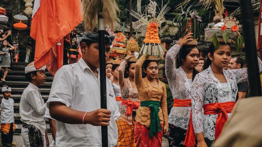 Hari Raya Galungan Bali Ceremony