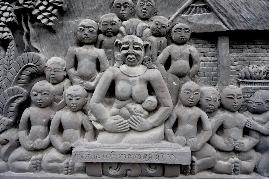 East Bali - Candidasa Temple