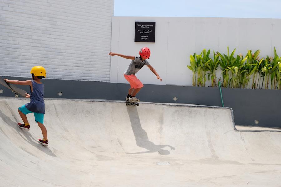 Tamora Gallery Skate Area - Berawa Canggu