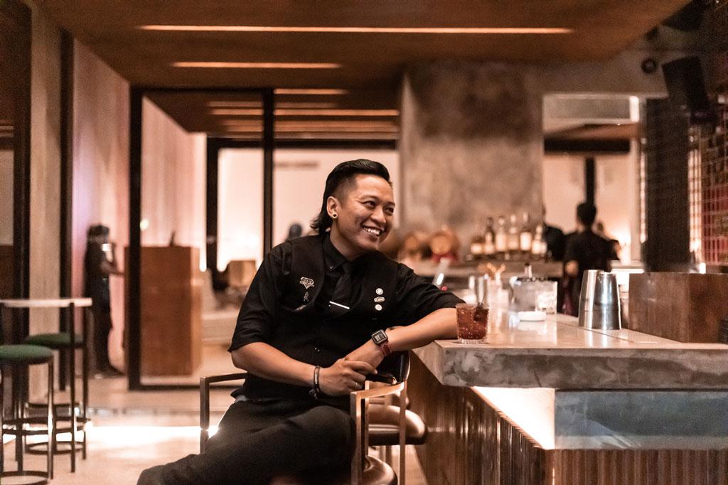 Arey Barker BIKINI Bali For Figs Sake Cocktail