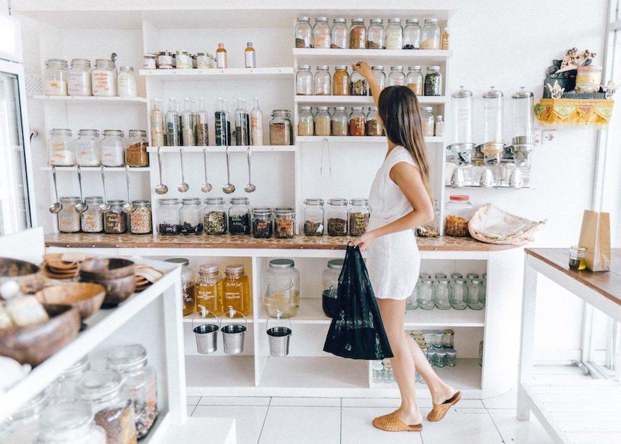 Bulk Stores in Bali Zero Waste 1