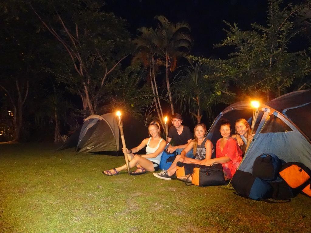 Camping in Bali