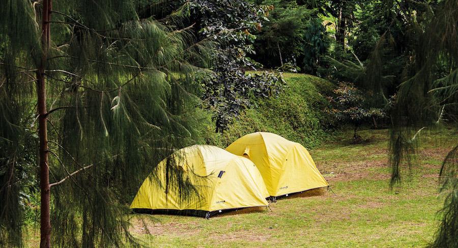Camping in Bali - Lake Batur 2