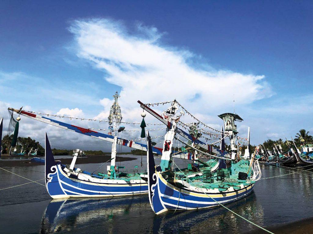 Unique Fishing Boats of Perancak