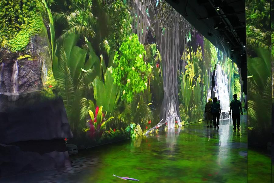 Trans Studio Bali Indoor Theme Park 8