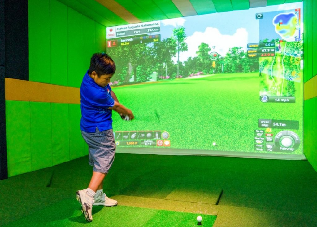 Bali Screen Golf Indoor Golfing Bali 4