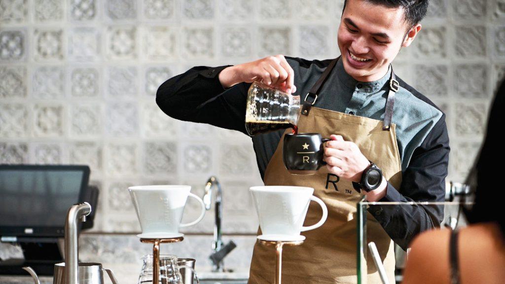 Best Coffee in Bali - Starbucks Reserve Dewata Bali
