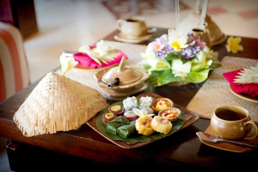 Afternoon Tea in Bali - Tugu Hotel Bali Canggu