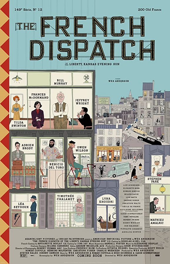 Upcoming Films - The French Dispatch