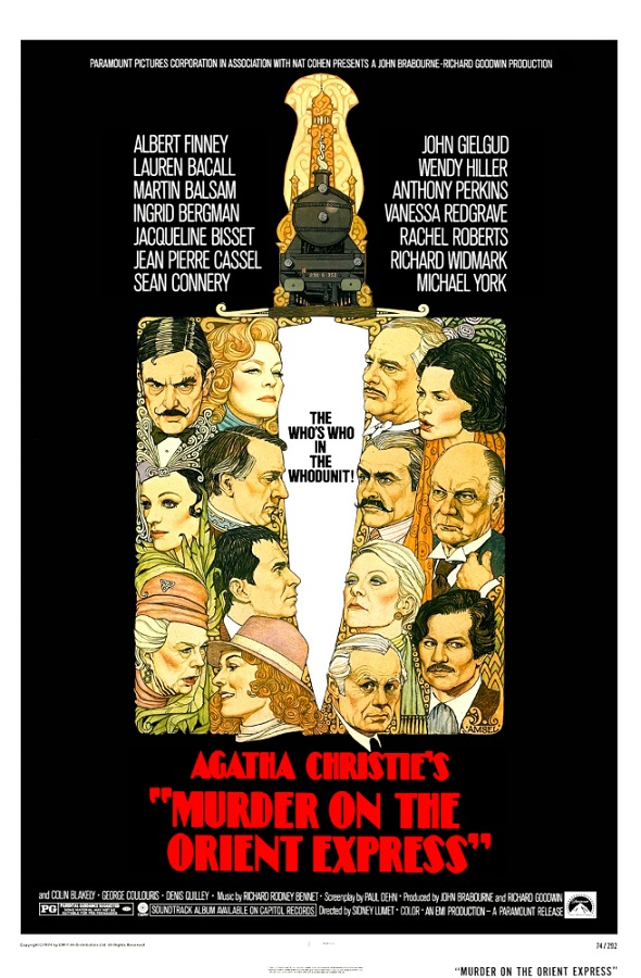 Whodunit Movies - Murder on the Orient Express