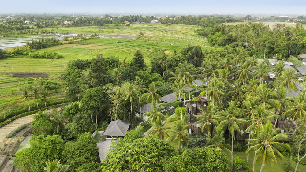 Nirjhara Resort Bali -  Aerial Image