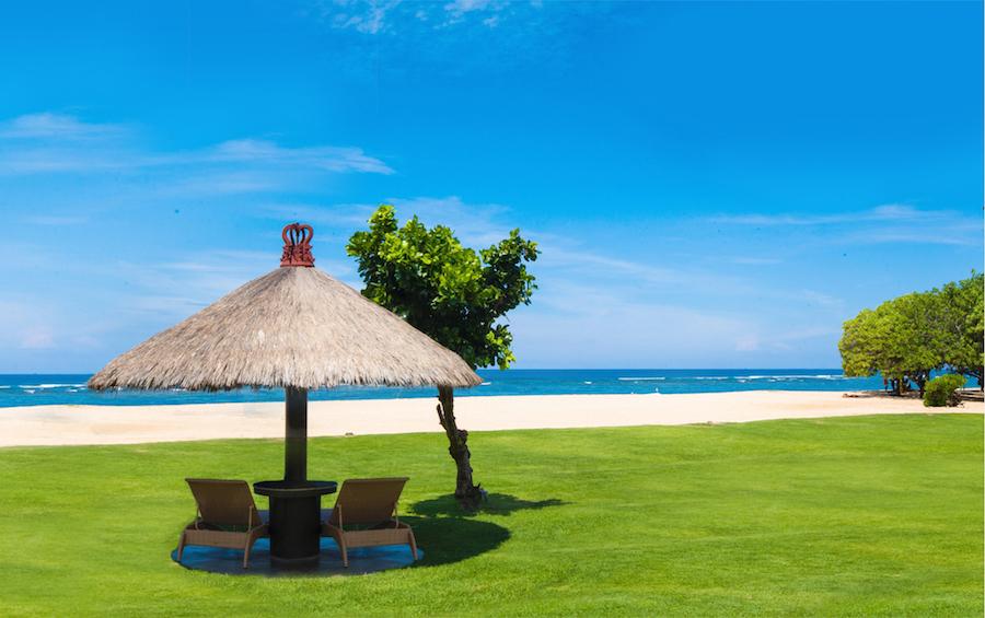 Ayodya Resort Bali - Fabulous Green Beach