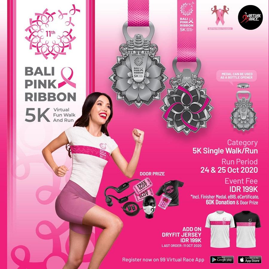 Bali Pink Ribbon Flyer