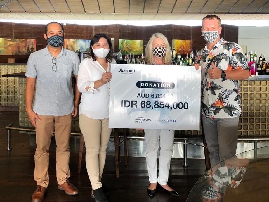 Virtual run to give Indonesia Bali