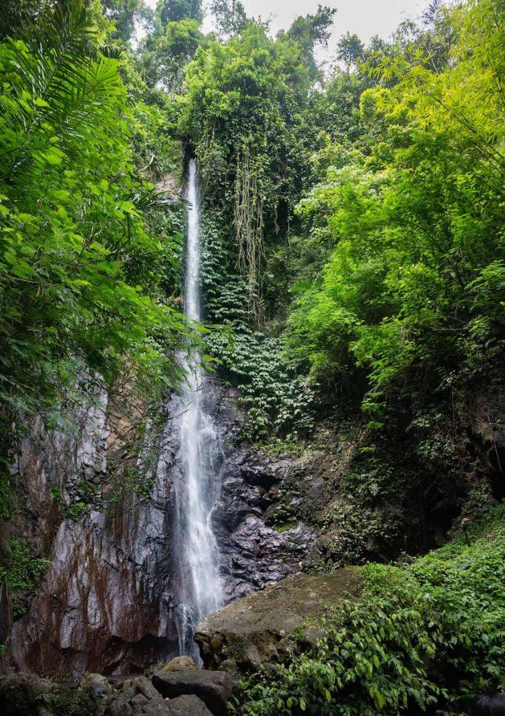 Jagasatru Waterfalls in Bali