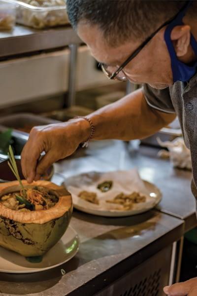 Moksa Ubud Vegetarian Restaurant baLI 2