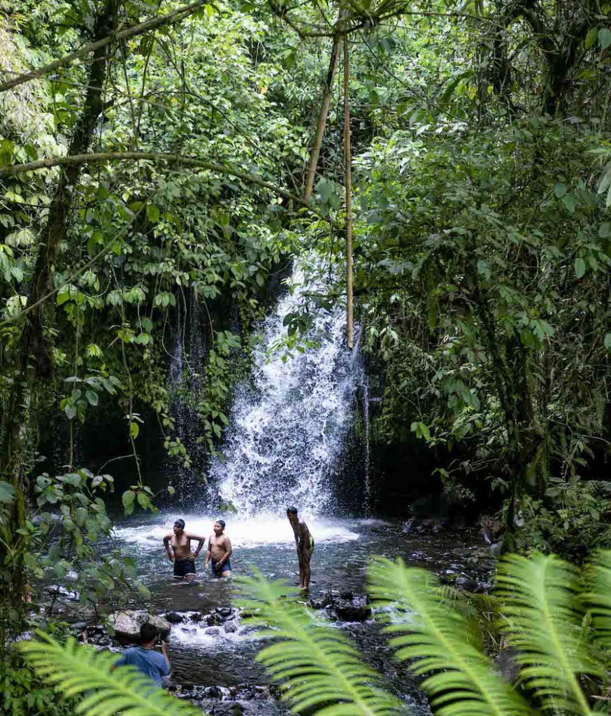 Yeh Hoo Waterfalls Jatiluwih Bali