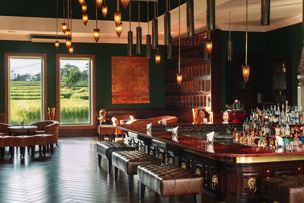 The Bar - Aperitif Bali Ubud Fine Dining Restaurant 1