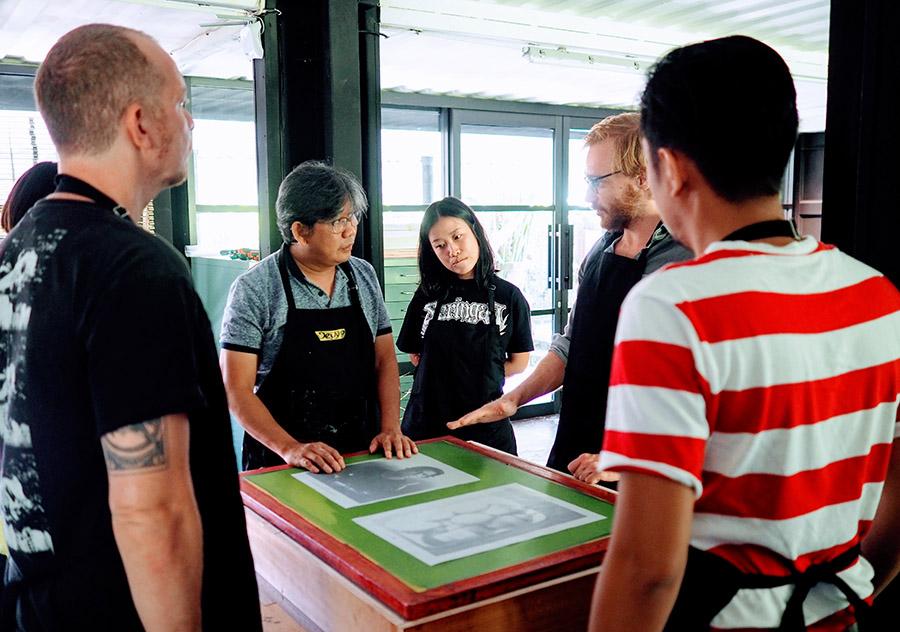 Black Hand Gang Printing Bali Mas 2