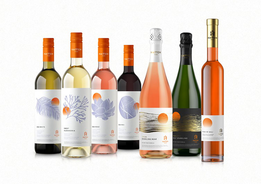 Hatten Wines New Look Collection