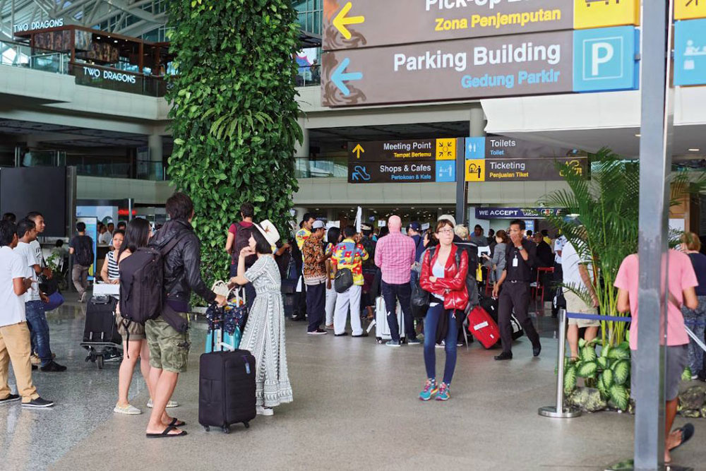 Medical Tourism in Bali - Airport Arrival