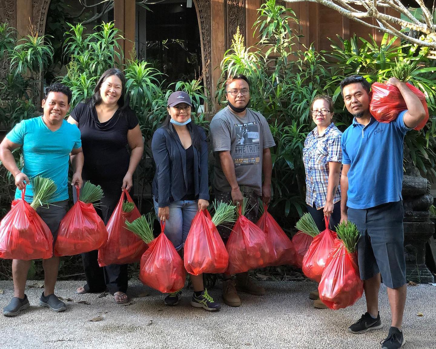 Food Donations in Bali Covid-19 Pandemic