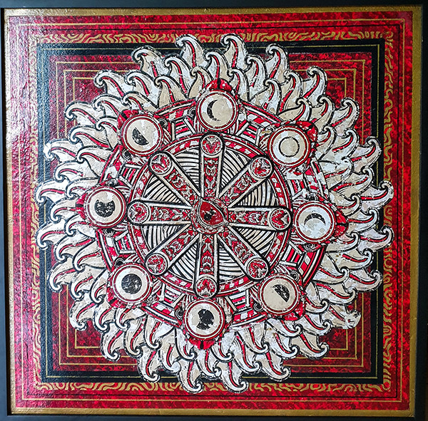 I Wayan Subudi Yadnyana Swoofone Balinese artist