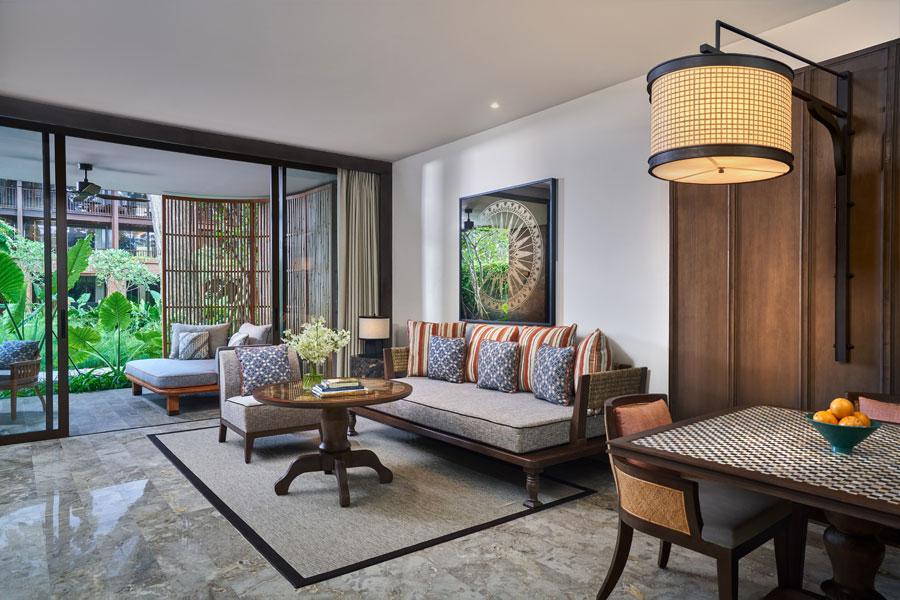 Andaz Bali - Suite Room Living Room