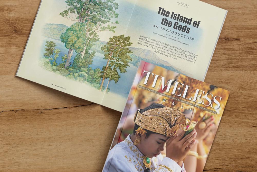 TIMELESS Bali Magazine NOW! Bali Limited Edition