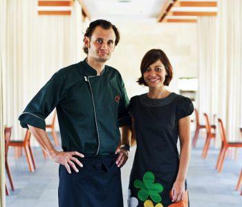 Cuca Restaurant Bali Chef Kevin Cherkas and Virginia Eteziene
