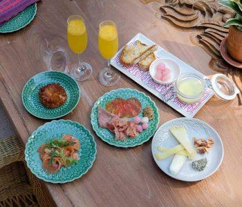 A Sunrise Breakfast at Andaz Bali