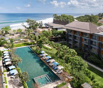 Hotel Indigo Aerial View