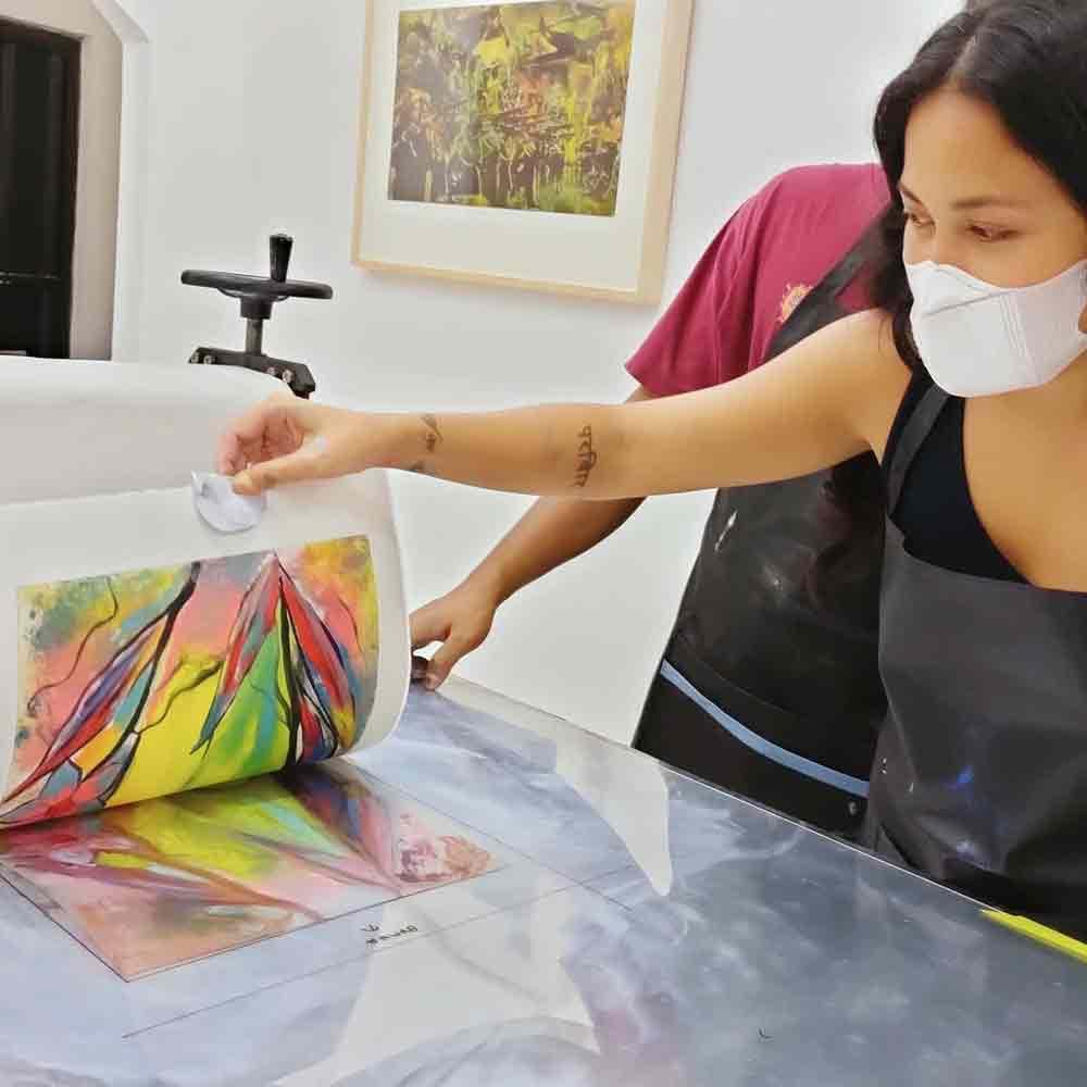 DEVFTO Printmaking Institute Bali